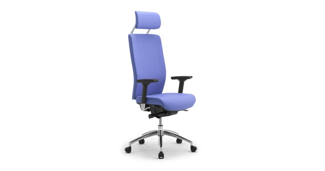 fauteuil de bureau avec soutien lombaire et appui t te leyform. Black Bedroom Furniture Sets. Home Design Ideas