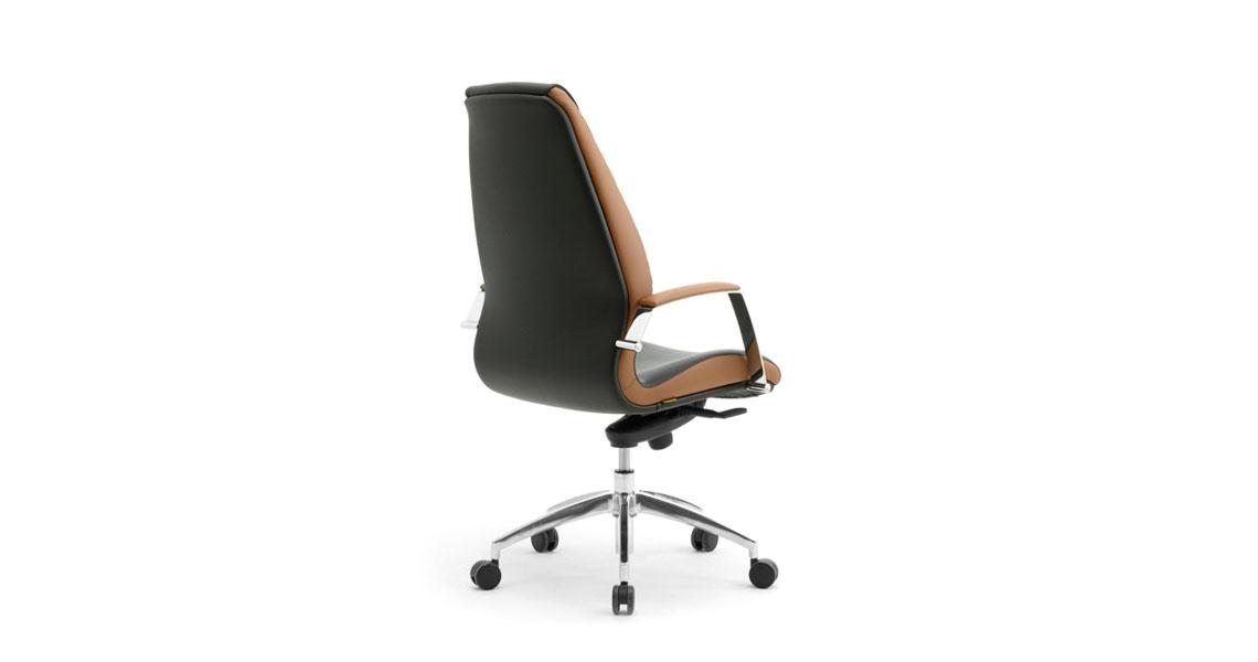 Chaise De Bureau Directeur Design En Cuir Siege De Bureau D Une