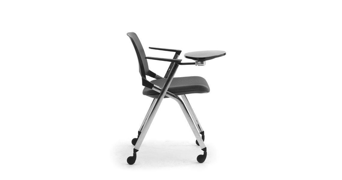 Chaises Empilables Avec Siège Rabattable Pour Salles De Conférence