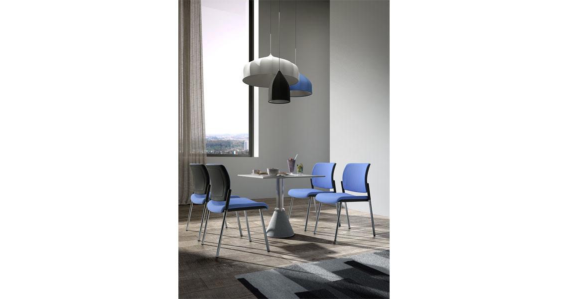 chaises pour la reception visiteurs et de salle d 39 attente leyform. Black Bedroom Furniture Sets. Home Design Ideas